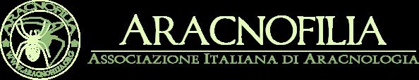 Aracnofilia – Associazione Italiana di Aracnologia