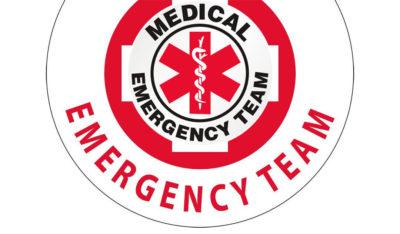 Logo dell'emergenza morsi di ragno e punture